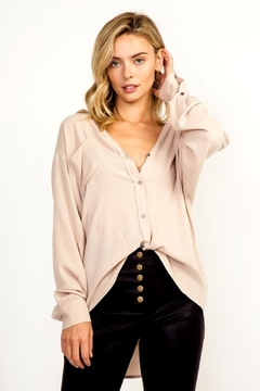 Olivaceous Button Down Top - Product List Image
