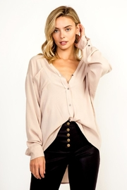 Olivaceous Button Down Top - Product Mini Image
