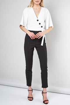 Do & Be Button-Down Wrap Top - Alternate List Image