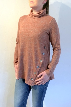 Shoptiques Product: Button Embellished Sweater