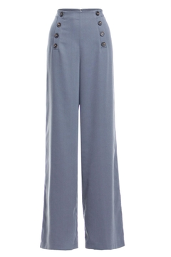 Renamed Clothing Button Flare Pants - Product List Image