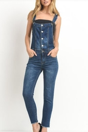 Black Label Button Fly Overalls - Product Mini Image