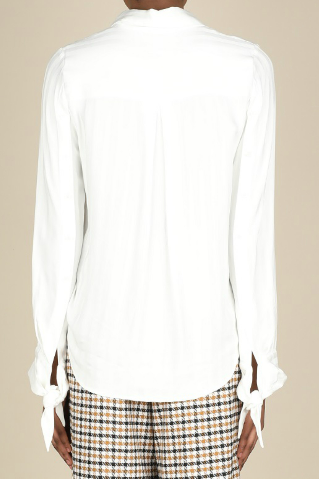 Current Air Button front blouse - Front Full Image