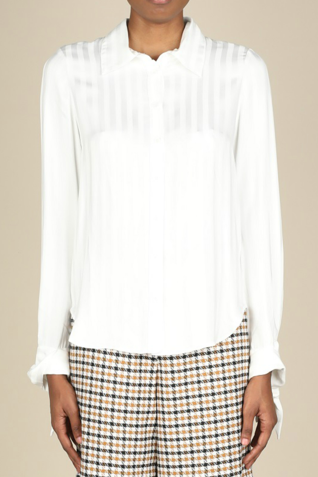 Current Air Button front blouse - Main Image