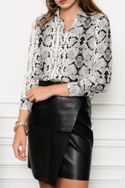 The Shirt Rochelle Behrens  BUTTON FRONT BLOUSE - Product Mini Image