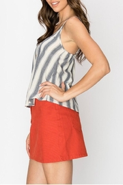 Favlux Button Front Cami - Front full body