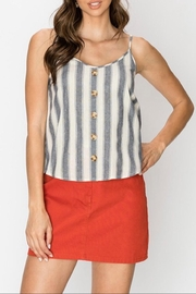 Favlux Button Front Cami - Front cropped
