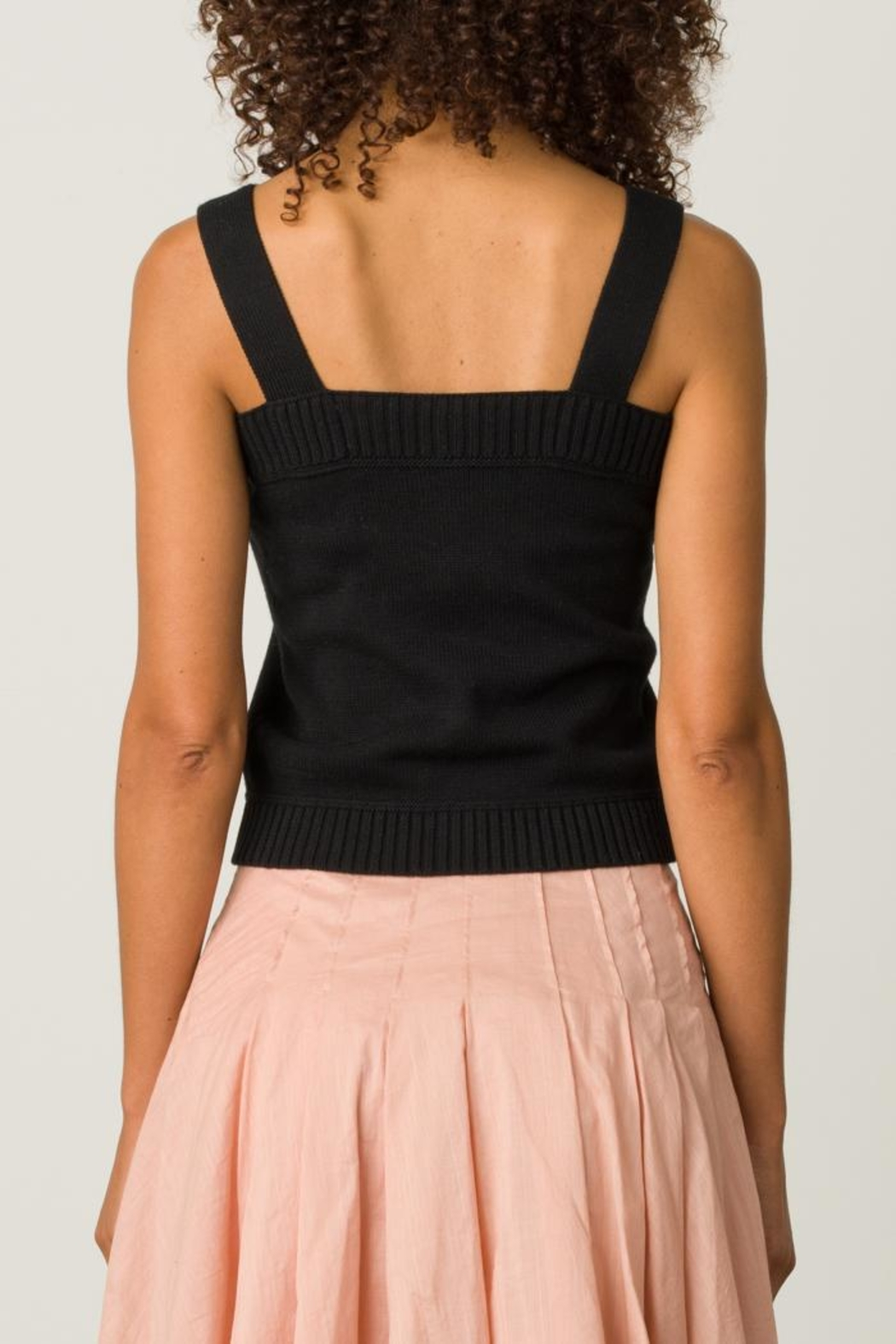 Margaret O'Leary Button Front Camisole - Side Cropped Image