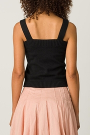 Margaret O'Leary Button Front Camisole - Side cropped