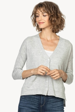 Lilla P Button Front Cardigan - Product List Image