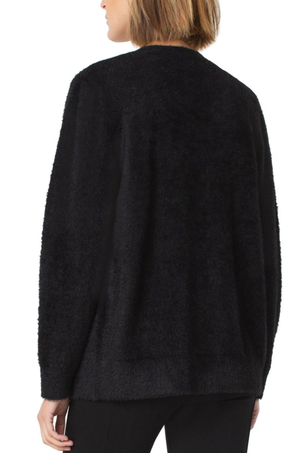 Liverpool  Button Front Cardigan - Side Cropped Image