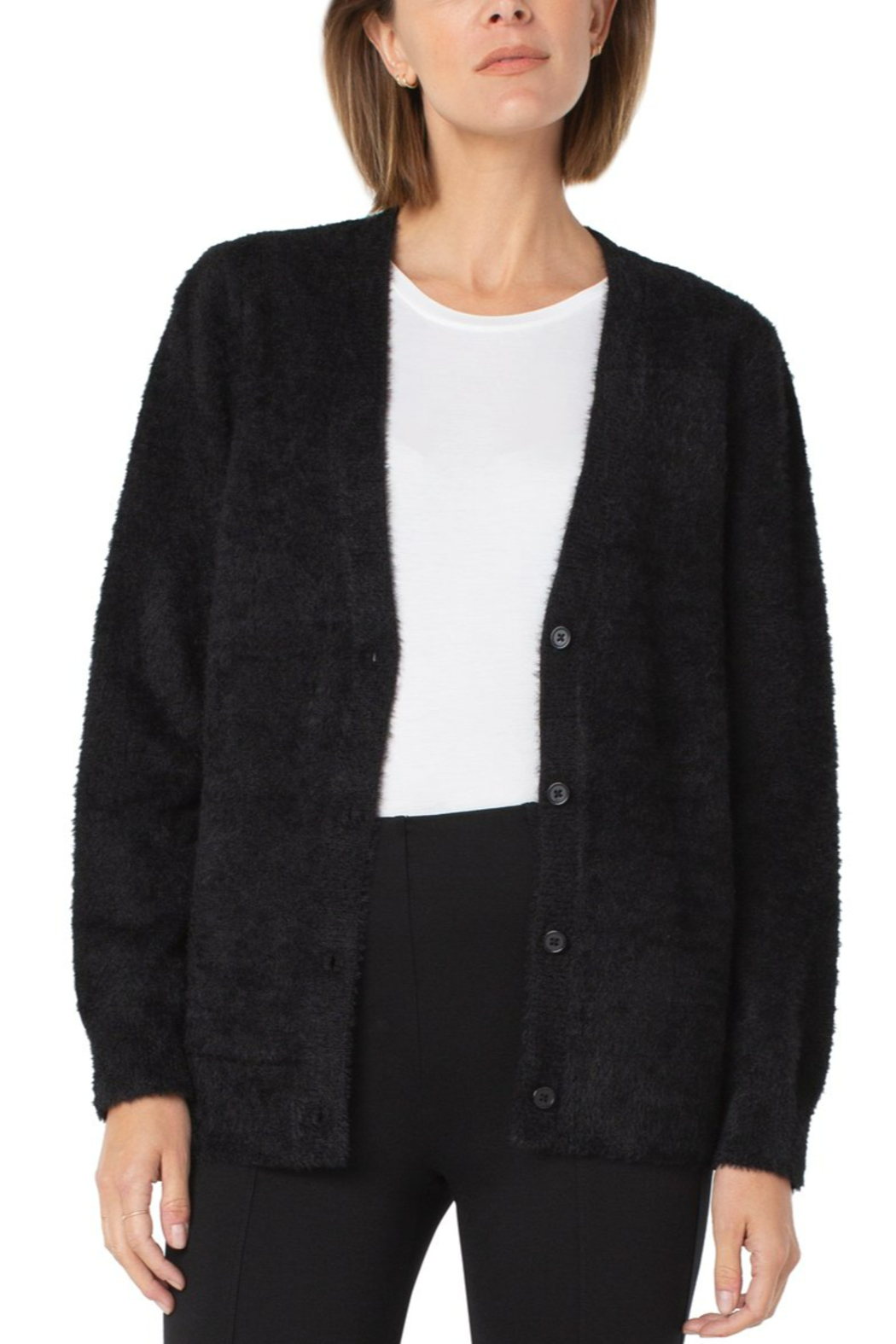 Liverpool  Button Front Cardigan - Main Image