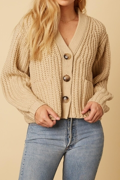 Shoptiques Product: Button Front Cardigan