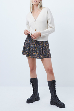 Shoptiques Product: Button Front Cardigan Sweater