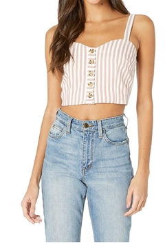 Bishop + Young Button Front Croptop - Alternate List Image