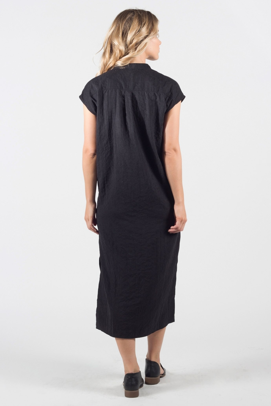 ThredNY Button front dress - Front Full Image