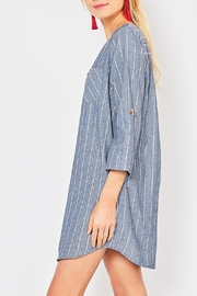 Entro Button Front Dress - Front full body