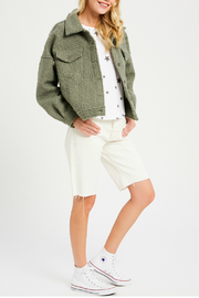Wishlist Button front jacket - Product Mini Image