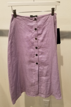 Olivaceous Button front skirt - Alternate List Image