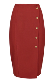 Bishop + Young Button Front Skirt - Product Mini Image