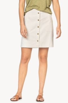 Lilla P Button Front Skirt - Product List Image