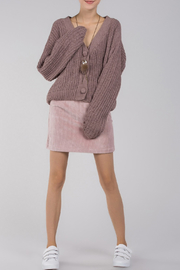 POL Button Front Sweater - Product Mini Image