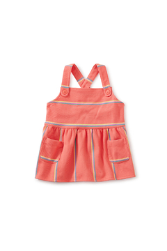 Tea Collection  Button Front Tank Top - Sunset Pink - Product List Image