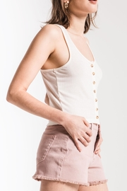 Others Follow  Button Front Tank - Side cropped