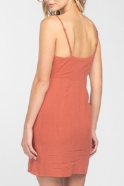 Everly Button Front-Tie Mini-Dress - Other