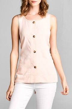 Caramela Button Front Top - Product List Image