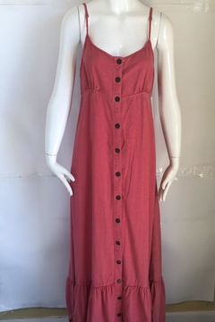 Shoptiques Product: Button Maxi Dress
