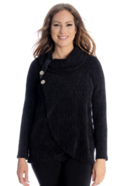 Michael Tyler Collections Button Neck Sweater - Product Mini Image