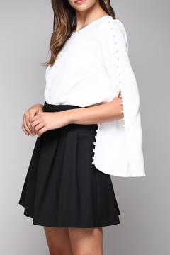 Shoptiques Product: Button Sleeve Blouse