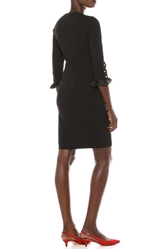 Donna Morgan Button Sleeve Dress - Alternate List Image
