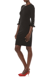 Donna Morgan Button Sleeve Dress - Front full body