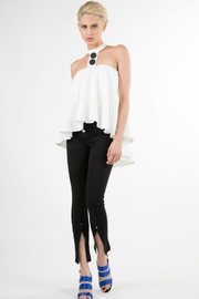 BEULAH STYLE Button Sleeveless Top - Product Mini Image