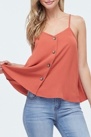 Jolie Button Swing Tank - Front cropped