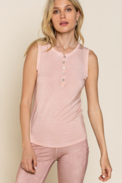 POL  Button Tank Top - Product List Image