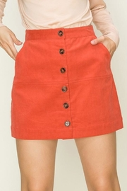 HYFVE Button Up Beauty Skirt - Product Mini Image
