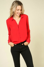 Lumiere Button-Up Blouse - Product Mini Image