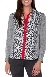 Liverpool  Button Up Blouse - Product Mini Image