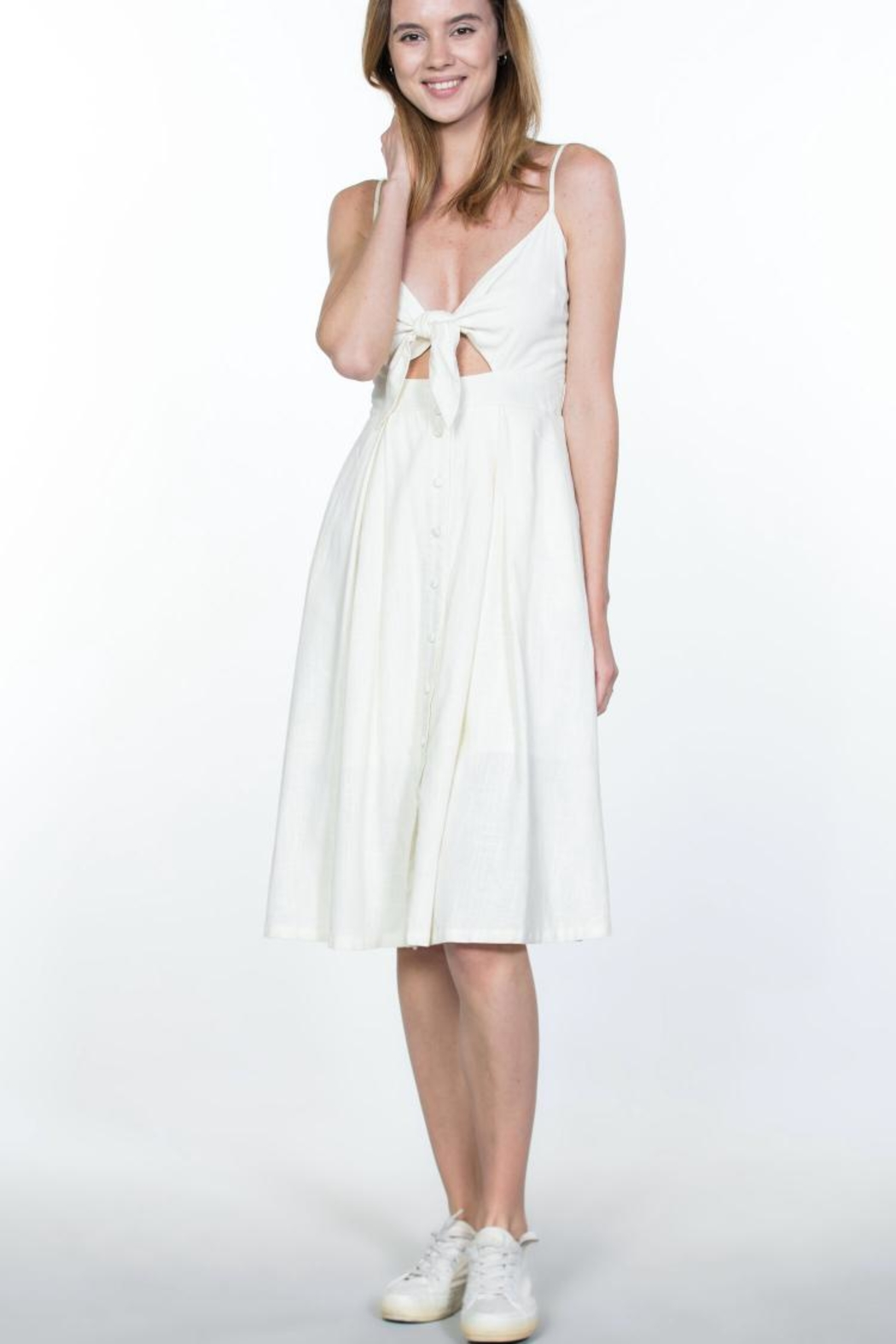 Ark & Co. Button-Up Cami Dress - Main Image