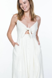 Ark & Co. Button-Up Cami Dress - Side cropped