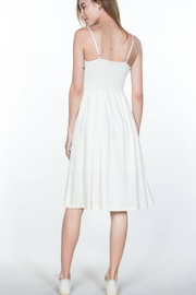 Ark & Co. Button-Up Cami Dress - Back cropped