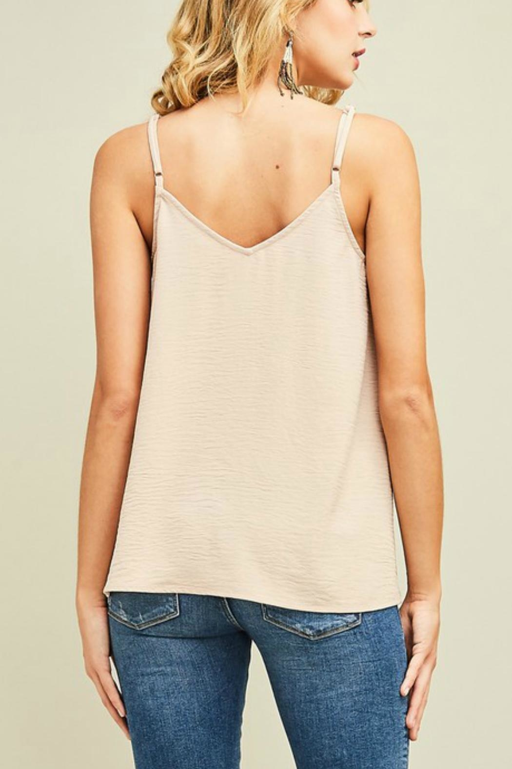 Entro Button Up Camisole - Front Full Image