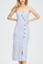 Hello Miss Button Up Dress - Back cropped