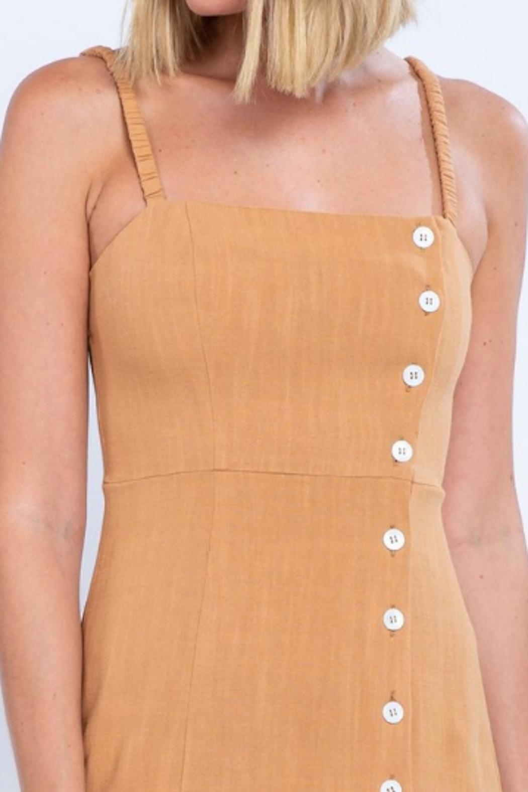 TIMELESS Button Up Dress - Side Cropped Image