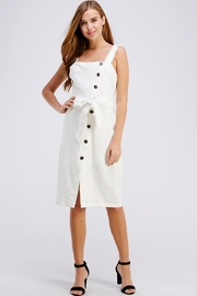 Gilli Button Up Dress - Front cropped
