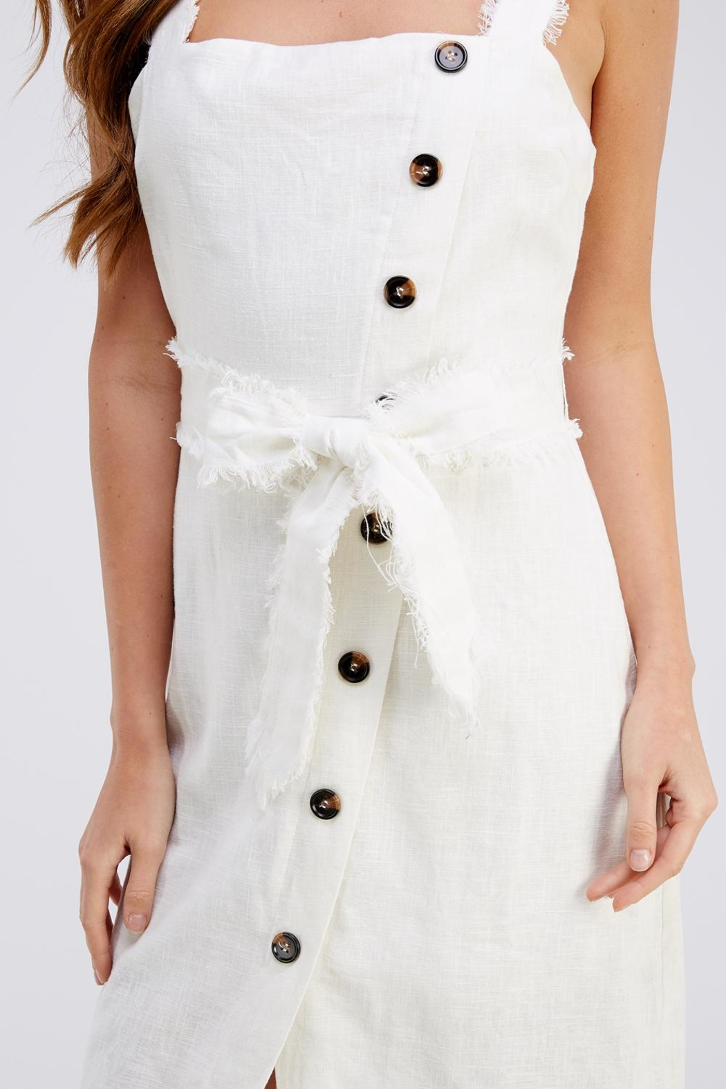 Gilli Button Up Dress - Side Cropped Image