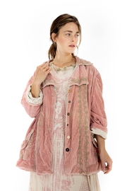 Magnolia Pearl Button Up Embroidered Jacket - Product Mini Image
